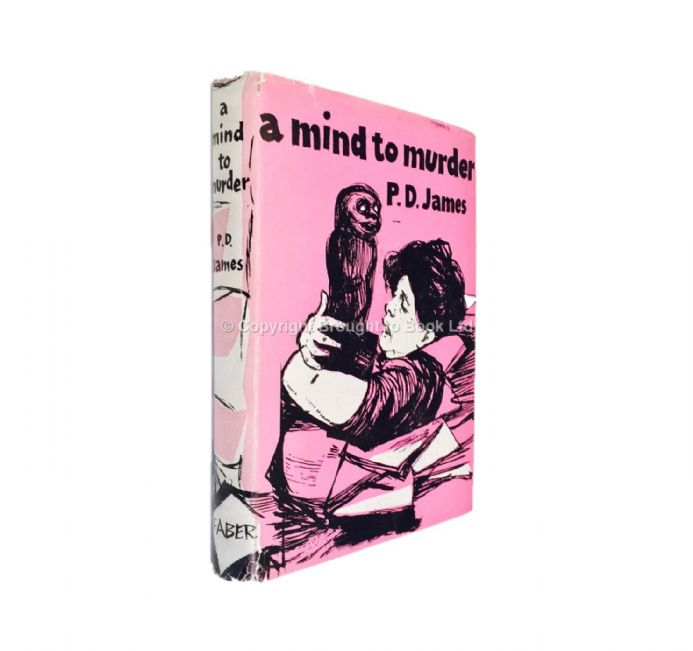 A Mind to Murder Signed by PD James First Edition Faber 1963